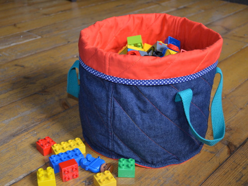 Quilted Toy Tub workshop at The Sewing Cafe