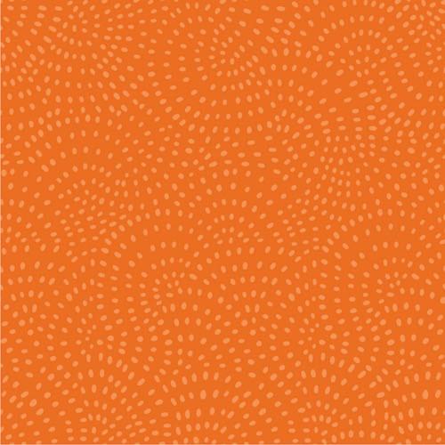 Twist Spot Fabric in Pumpkin