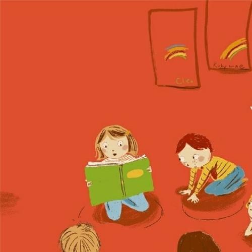 Kindergarten in Red - Kinder by Heather Ross