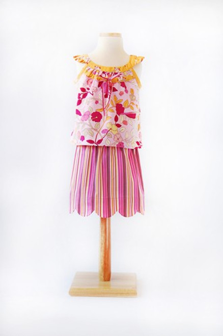 Oliver + S Badminton Skirt, Top and Dress Pattern