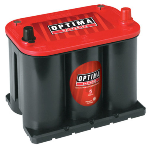 OPT8020-164, Battery, RedTop Starting, AGM, 12V, 720 Cranking Amps, Top Post
