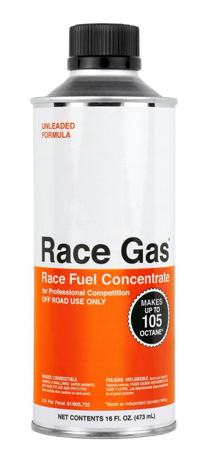 RCG100016, RACE GAS 16 OZ