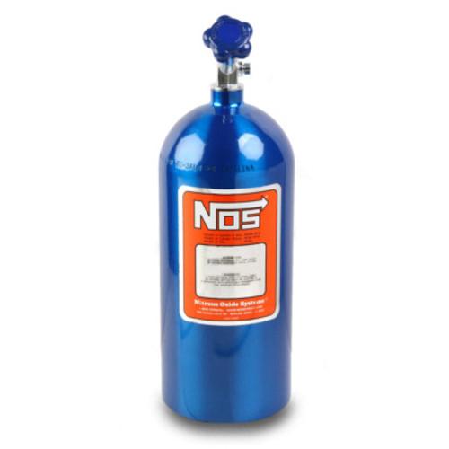 NOS14745, NOS,,Nitrous Oxide Bottle, 10 lb, Hi-Flo Valve, Aluminu