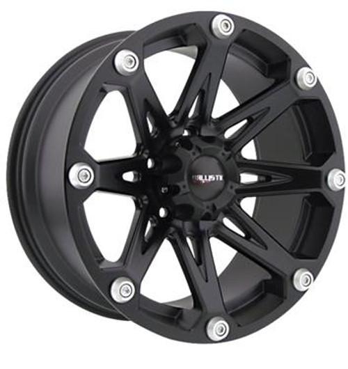 WHLPST8142PFBG, BALLISTIC Wheel; 814 Jester; 20 Inch Diameter x 9 Inch Width; 6 x 135 Millimeter/ 6 x 5.31 Inch Bolt Pattern