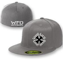 WFO FLAT BILL flex fit 210 gray