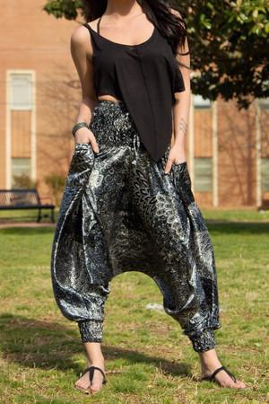 Shimmer Harem Pants