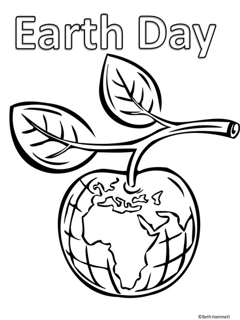 Earth Day Coloring Sheets - Amped Up Learning