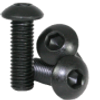 30mm M3 Steel Button Head Screw Black Anodized (10 pieces)