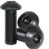 11mm M3 Steel Button Head Screw Black Anodized (10 pieces)