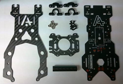 Complete TILT Upgrade Kit with Integrated Power Distribution Board for FPV REV2
