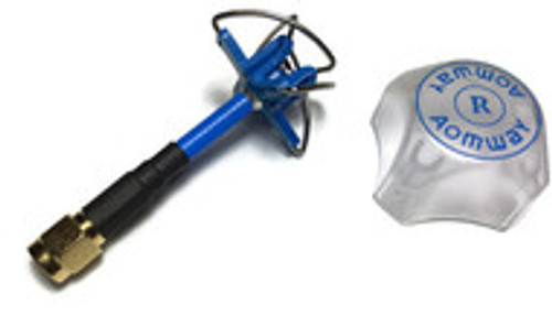 Aomway 4-Cloverleaf Stubby Antenna with Protection Cover (RHCP) *Out of stock