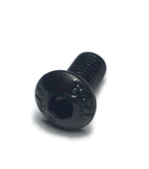 6mm M3 Class 12.9 Steel Button Head Screw Black Anodized (10 pieces)