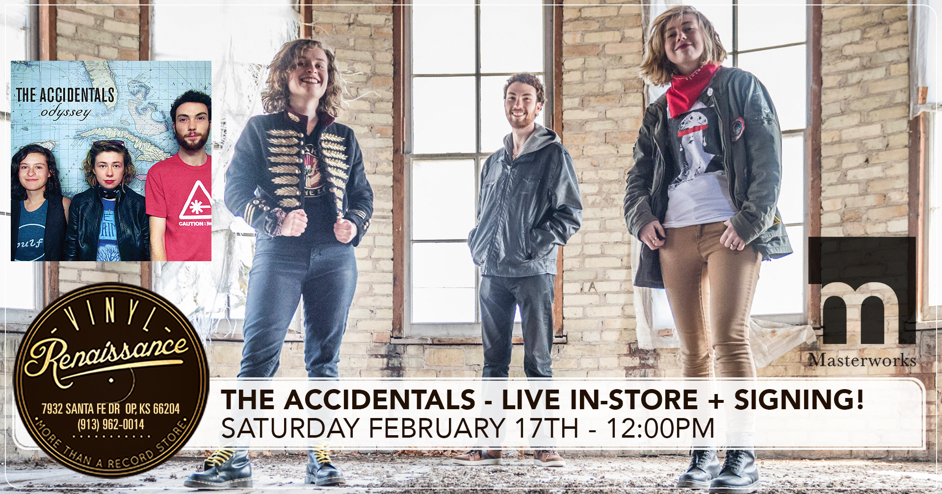 The Accidentals - Live In-Store + Signing!