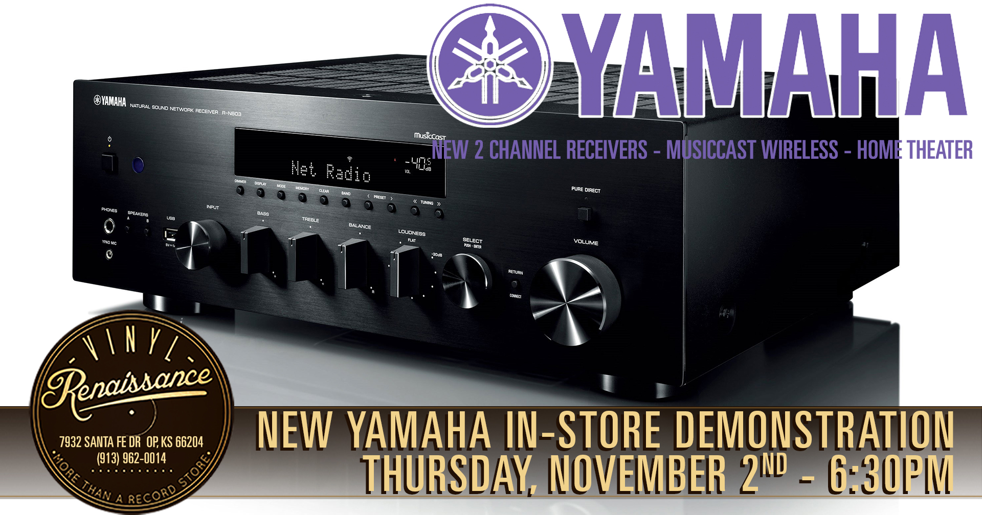 New Yamaha In-Store Demonstration!