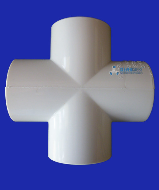 20mm PVC cross to fit PVC pressure plumbing pipe for your next project