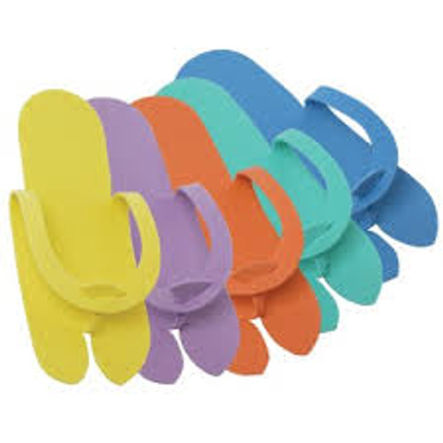 Fold-Up Pedicure Slippers 10-pr