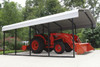 12' Wide x 7' High Arrow Metal Carport