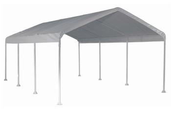 "12x20 Canopy 2"" 8-Leg Frame White Cover"
