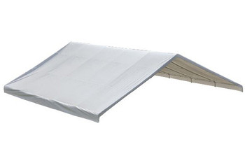 "30x50 White Canopy Replacement FR Rated Cover, Fits 2-3/8"" Frame"
