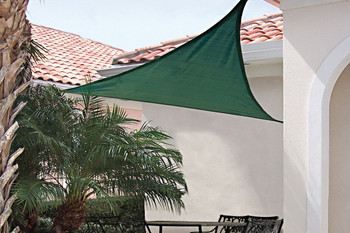 16 ft. Triangle Shade Sail 230 GSM