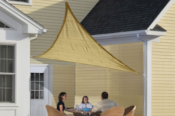 16 ft. Triangle Shade Sail 160 GSM