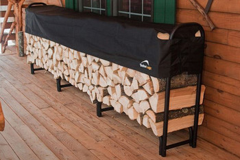 12 ft. Heavy Duty Firewood Rack with Cover