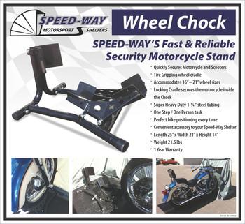 Speed-Way Motorcycle Wheel Chock