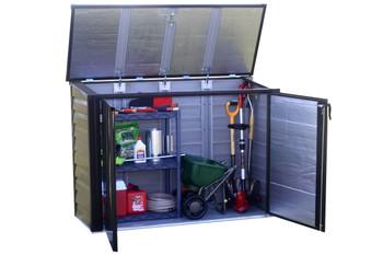Versa-Shed™, 5x3, Locking Horizontal Storage Shelter, Onyx