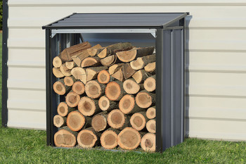 Firewood Rack Anthracite
