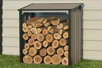 Firewood Rack Mocha