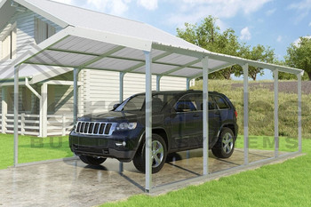 Grand Carport Roof Only - 12x20x7 - FREE SHIPPING