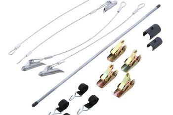 "4 Pcs 30"" Easy Hook Ratchet Anchors"