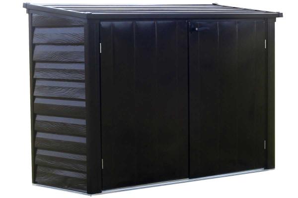 Versa-Shed™, 6x3, Locking Horizontal Storage Shelter, Onyx