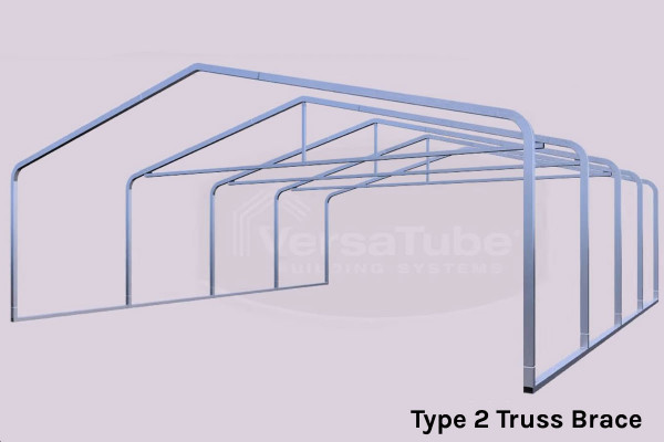Grand Carport Roof Only - 12x20x10 - FREE SHIPPING