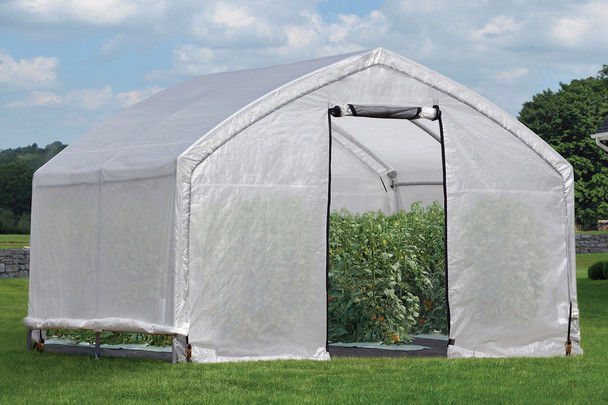 12x10x9 Accelaframe Greenhouse Clear