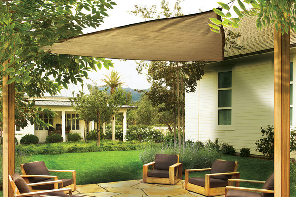 12 ft. Triangle Shade Sail 230 GSM