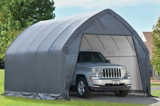 11x20x9  Alpine Style SUV/ Small Truck Shelter Grey