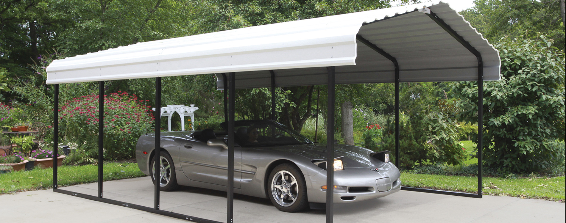 Temporary Garages For Large Trucks : Shelters of new england portable garages carports and