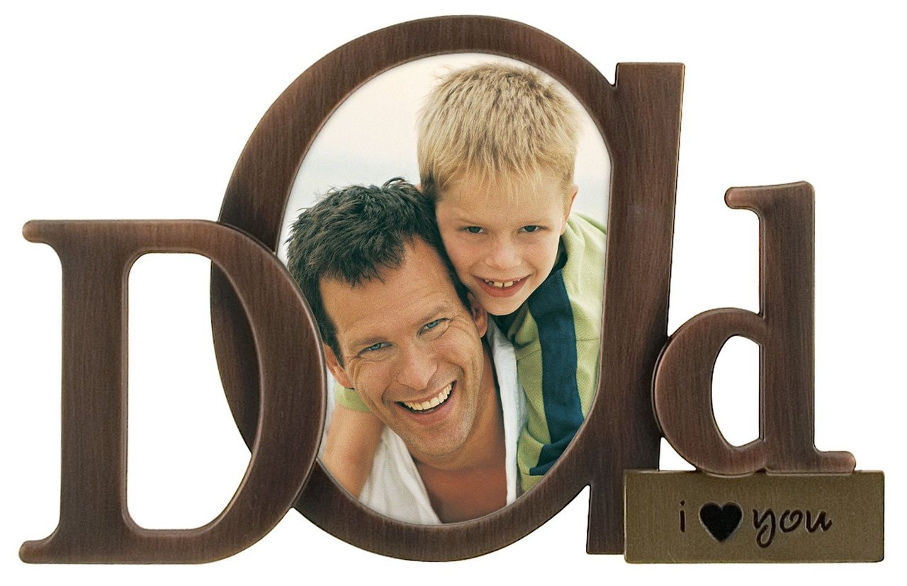 Father\'s Day - Photo Frame - Picture Frame - JOSHUA 1:9 - Father ...