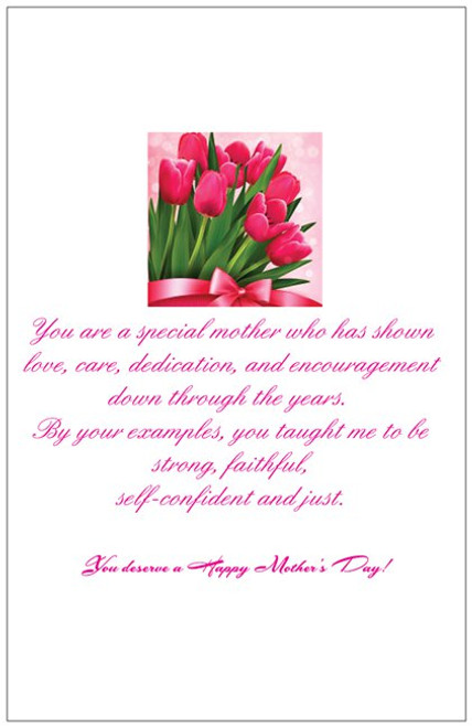 A mothers love mothers day card 5 x 7 positive stationery a mothers love mothers day card m4hsunfo