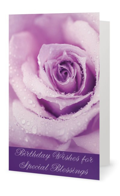 Birthday greeting card positive stationery birthday rose front of card m4hsunfo
