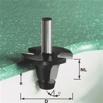 Festool Basin bit w/bear HW 49mm 12