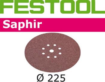 Festool Saphir | 225 Round Planex | 36 Grit | Pack of 25 (495175)