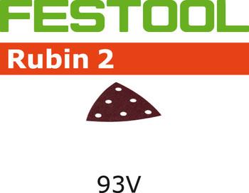 Festool Rubin 2 | 93 Delta | 60 Grit | Pack of 10 (499170)