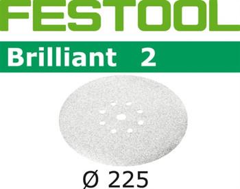Festool Brilliant 2 | 225 Round Planex | 80 Grit | Pack of 25 (495929)