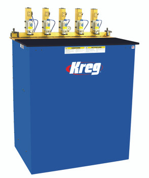 Kreg 5-Spindle Pneumatic Pocket Hole Machine (DK5100)