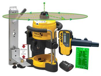 Stabila LAR120 Green Beam Rotating Interior Laser Kit (05300)