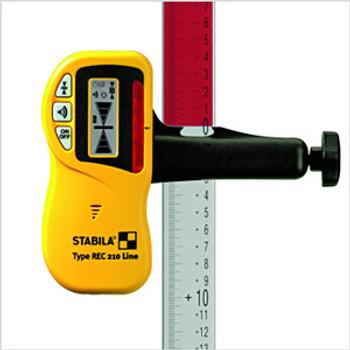 Stabila REC 210 Receiver w/Bracket (07330)