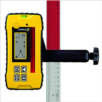 Stabila Hi/Lo Elevation Rod Inch and Engineers Scales (07468)