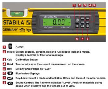"Stabila 48"" IP65 Tech Level w/Case (36548)"